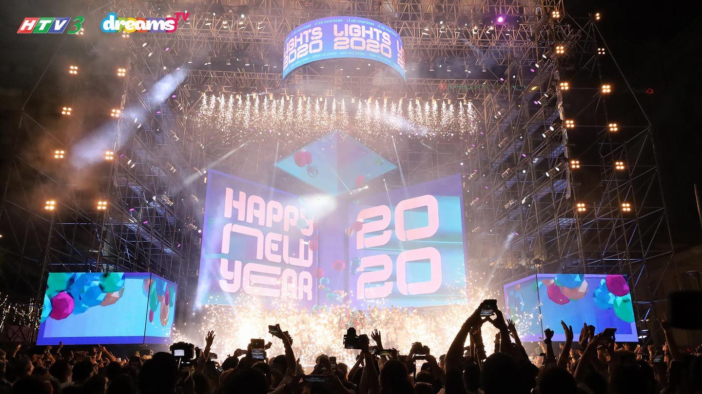 CHÀO ĐÓN THẬP KỶ MỚI TẠI ĐÊM ĐẾM NGƯỢC ĐẦY MÃN NHÃN COUNTDOWN LIGHTS 2020