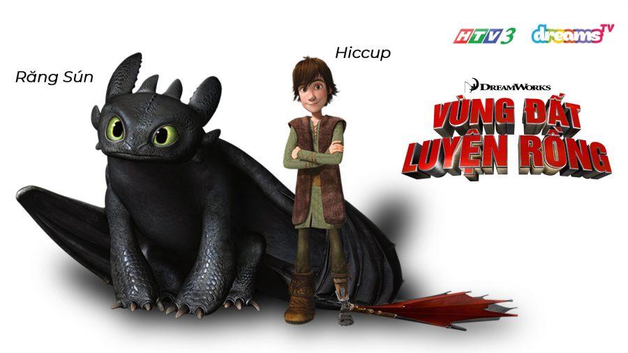 Răng Sún và Hiccup | Vùng Đất Luyện Rồng | HTV3 DreamsTV