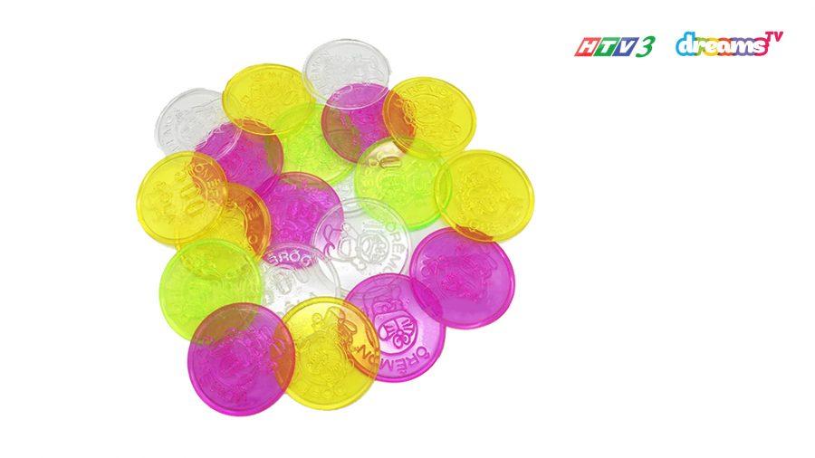 Đồng xu đồ chơi in hình Doraemon | HTV3 DreamsTV