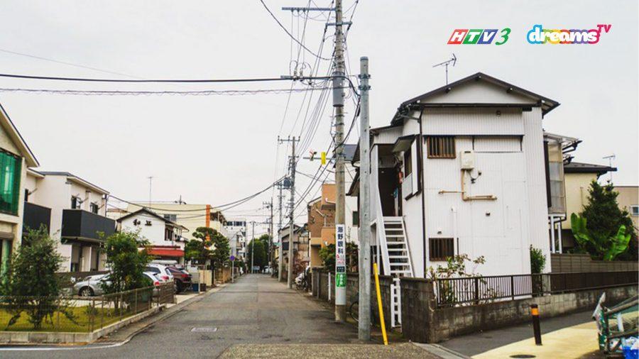 Con phố xung quanh bảo tàng Fujiko Fujio - Bảo Tàng Doraemon lớn nhất tại Nhật.