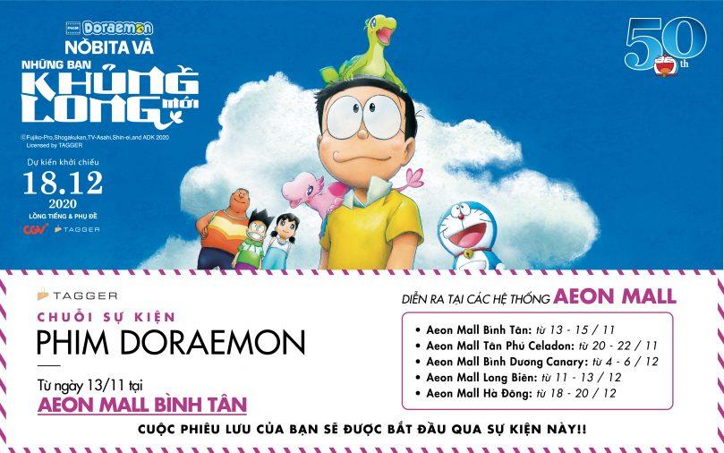 Doraemon kỷ niệm 50 năm | Nobita Và Những Bạn Khủng Long (mới)