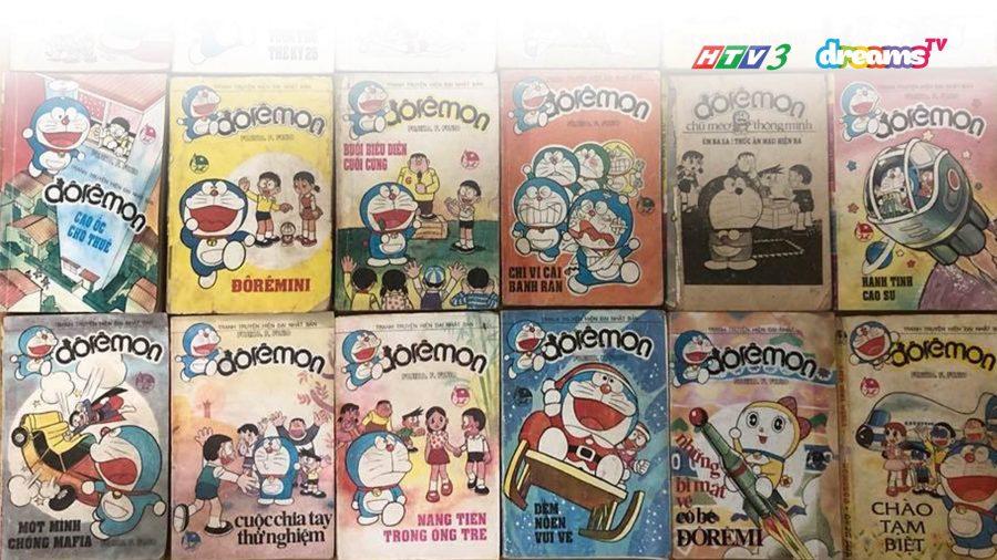 Những tập truyện tranh Doraemon đầu tiên tại Việt Nam | HTV3 DreamsTV