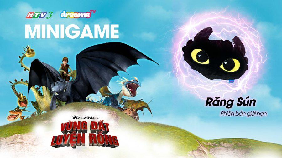 dragons | vùng đất luyện rồng | răng sún | toothless | thử thách minigame
