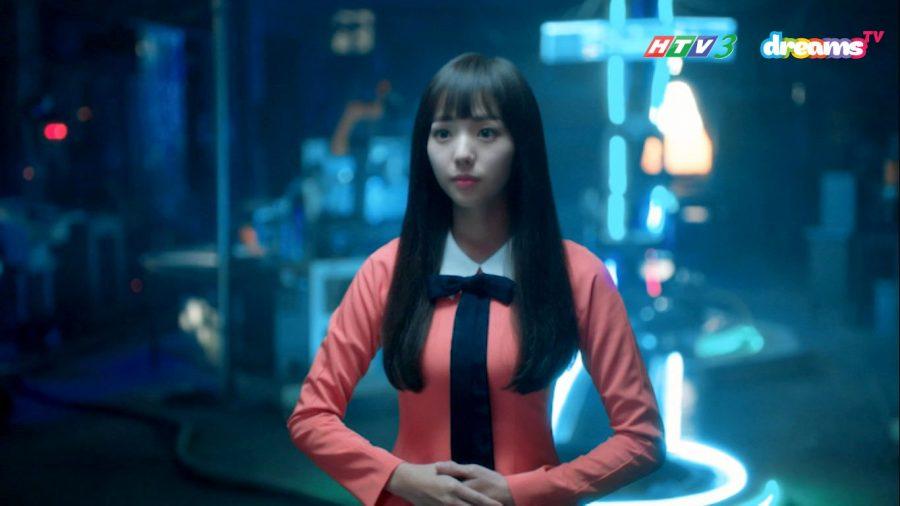 """Trong """"Tôi Không Phải Robot"""" Chae Soo-bin đóng vai Jo Ji-ah, một cô gái mạnh mẽ độc lập, bị số phận đẩy đưa mà đến bên đời Kim Min-kyu."""