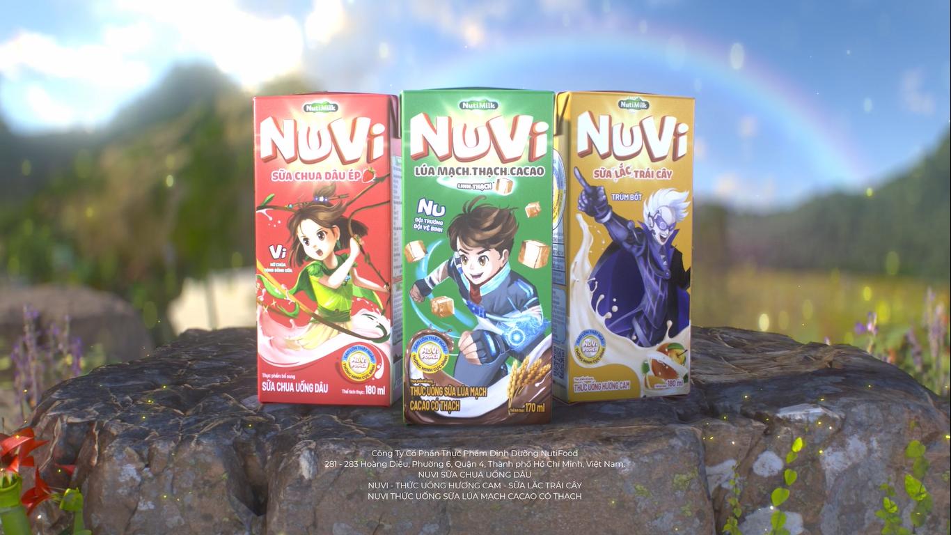 """Có gì bên trong """"bộ ba thần thánh"""" sữa NuVi khiến trẻ em mê tít?"""